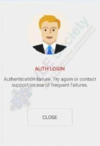 CSC Digipay uthentication Problem