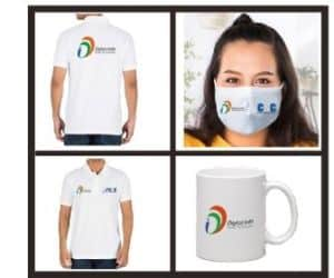 csc vle t shirt cap face mask mug and id card order