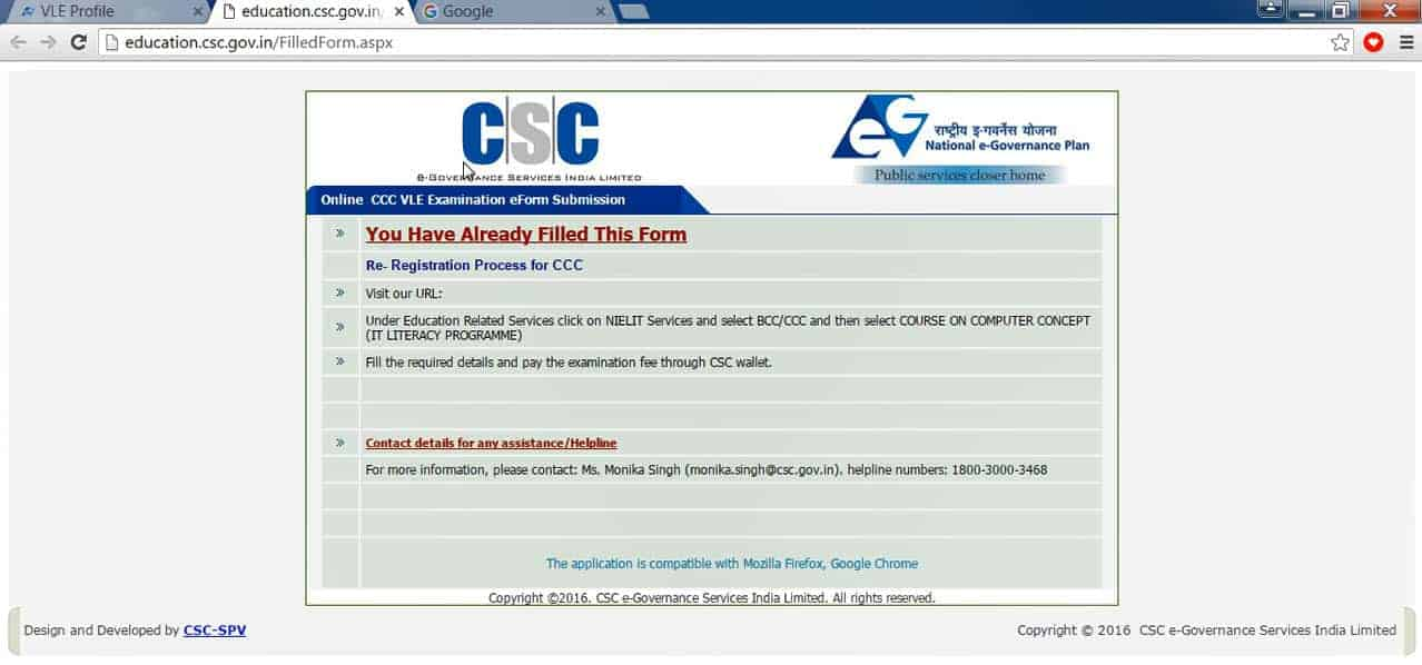 free ccc project for csc vle