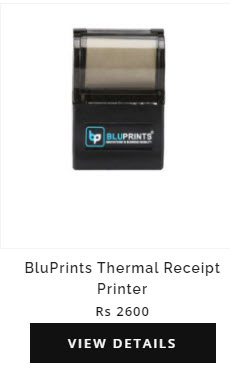 csc bluePrints Thermal Printer For CSC Digipay and Electricity Bill receipt Print