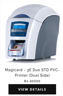 csc magic card 3e Duo STD Dual Side Pvc Printer for Election Voter id Printing