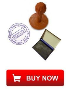 csc common service center stamp with ink pad order
