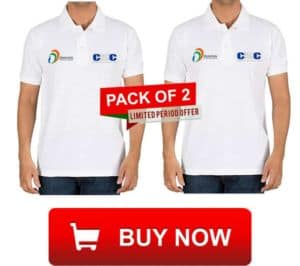 csc vle pack of 2 t shirt offer